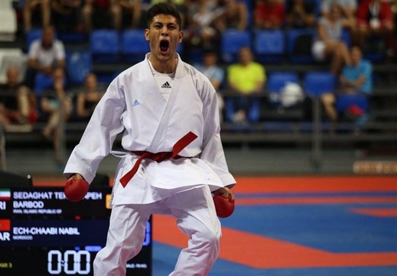 کاراته قهرمانی آسیا، کومیته تیمی مردان گام نخست را محکم برداشت