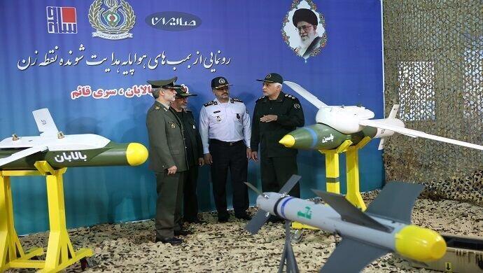 وزیر دفاع از بمب های هوشمند راهنمایی شونده رونمایی کرد