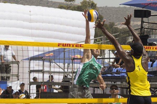 کسب نخستین مدال والیبال ساحلی در تور جهانی