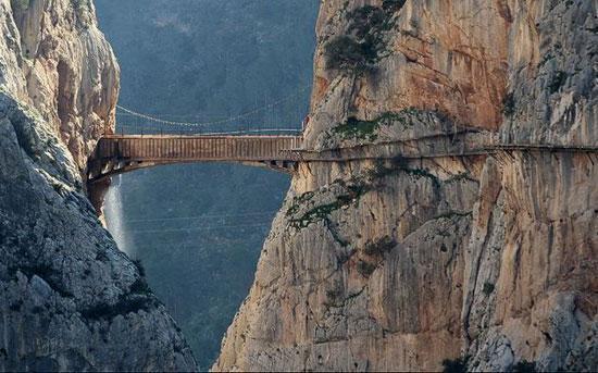 دیدنی ترین پل های پیاده رو دنیا