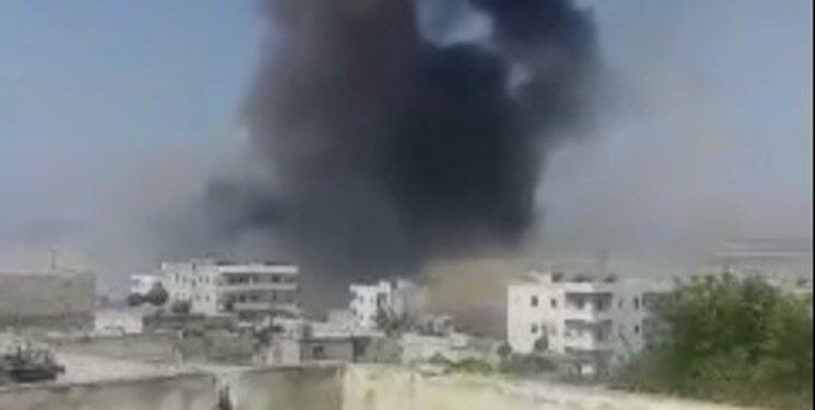 مرگ 4 غیر نظامی سوری در پی انفجار بمب
