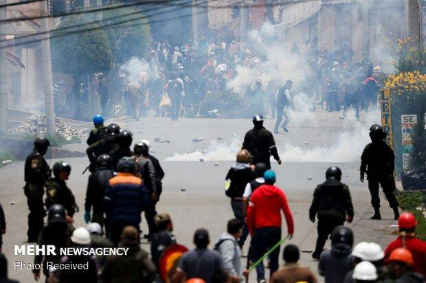 مورالس: کشتار معترضان را متوقف کنید
