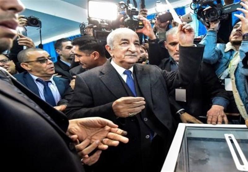 اظهارات رئیس جمهور منتخب الجزایر پس از مراسم تحلیف