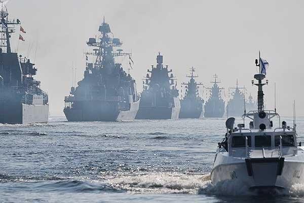 حرکت ناوگان دریایی روسیه به سمت ایران برای تمرین مشترک