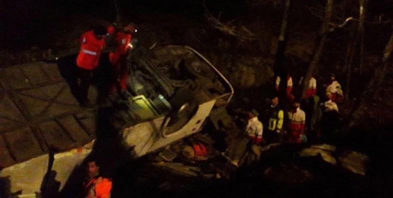 اعلام اسامی کشته شدگان تصادف جاده سوادکوه