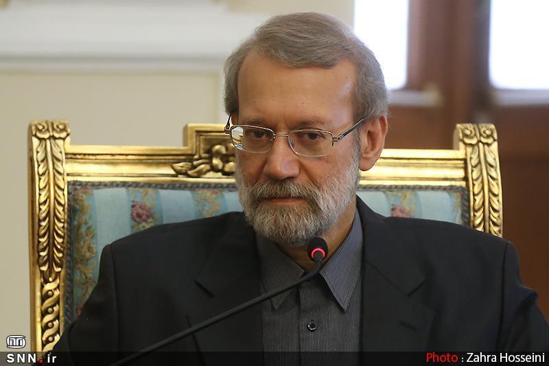 لاریجانی جان باختن تعدادی از مردم در زلزله الازیغ را تسلیت گفت
