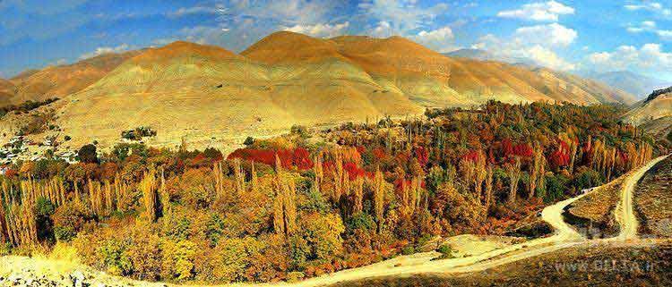 روستای برغان ؛ جاهای دیدنی کرج