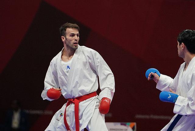 شکست عسگری مقابل آقائف در لیگ جهانی کاراته، حذف 3 نماینده ایران