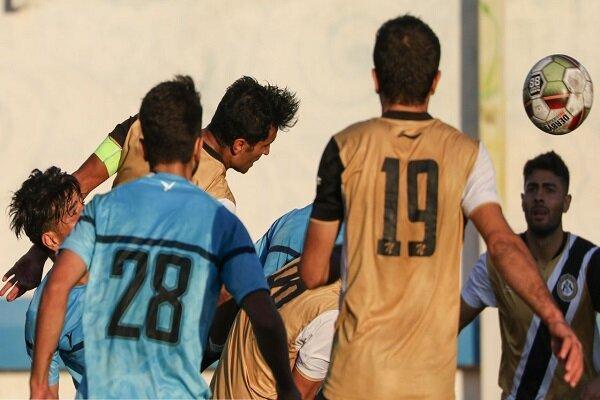 پیروزی پر گل تیم فوتبال بادران مقابل قشقایی شیراز