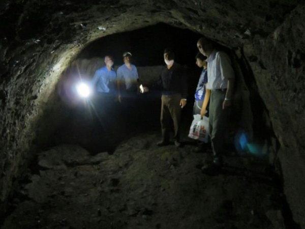 کشف مخفی گاه زیرزمینی در دیلمان