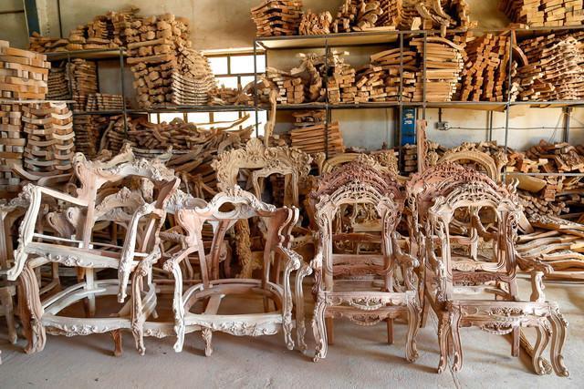 فعالیت 4600 واحد تولیدی مبل و منبت در تویسرکان