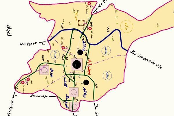 تاریخچه و نقشه جامع شهر نجف آباد در ویکی خبرنگاران