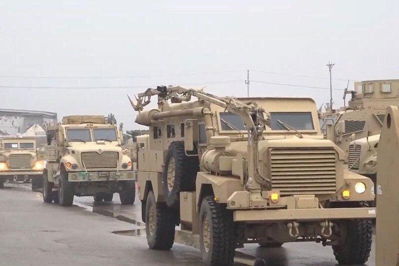 آمریکا، پایگاه الحبانیه عراق را ترک می نماید